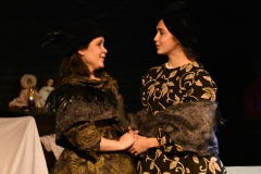 Sarah Dunn and Sophie Adickes in Goblin Market, Head Trick Theatre. Costumes Marissa Dufault