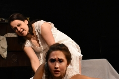 Sarah Dunn and Sophie Adickes in Goblin Market, Head Trick Theatre. Choreography Carson Pavao