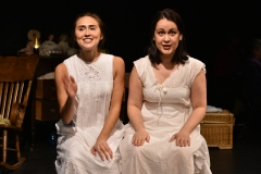 Sophie Adickes and Sarah Dunn in Goblin Market, Head Trick Theatre