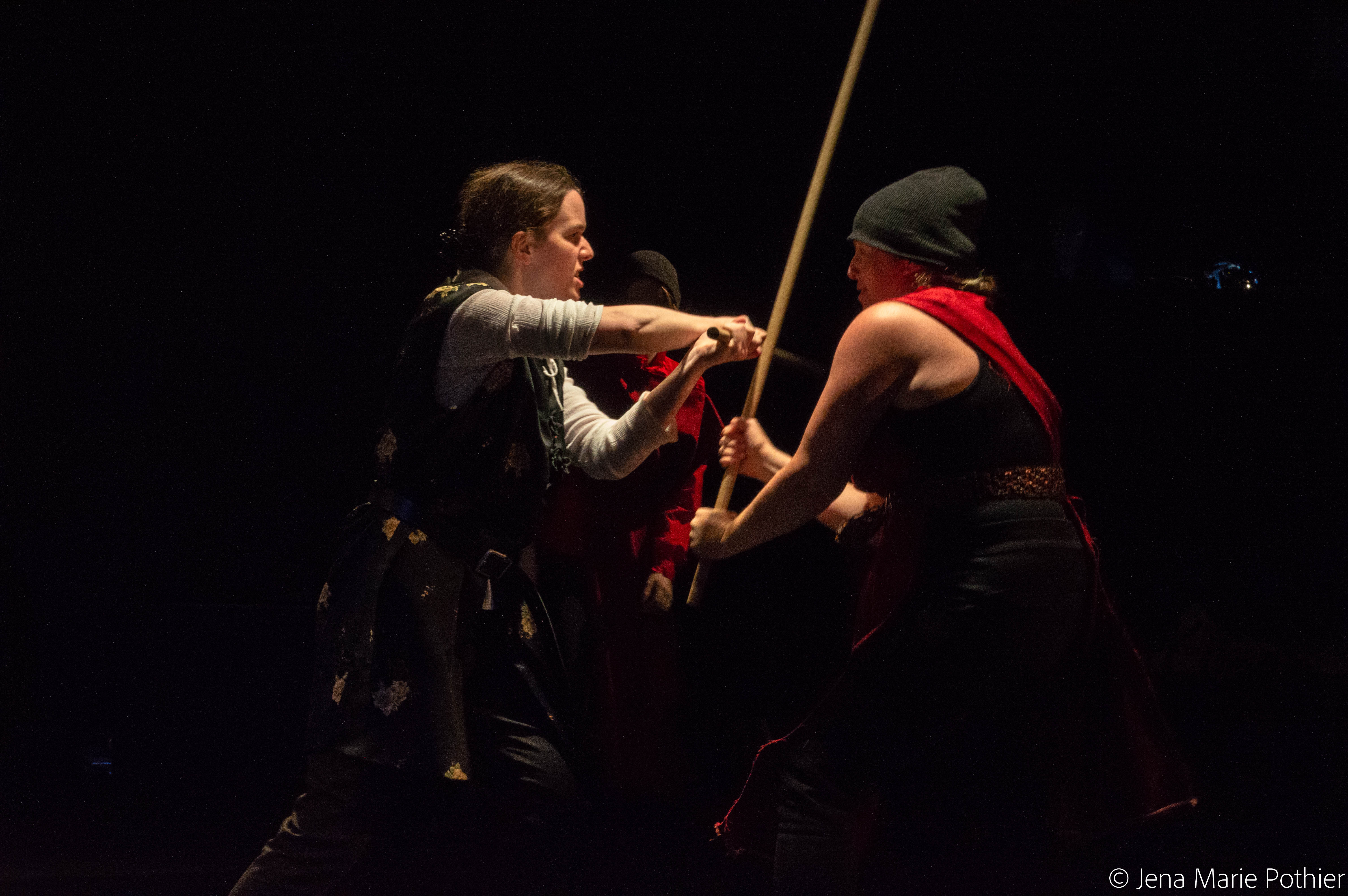 Head Trick Theatre's QUEEN MARGARET by Jennifer Dick, adapted from William Shakespeare