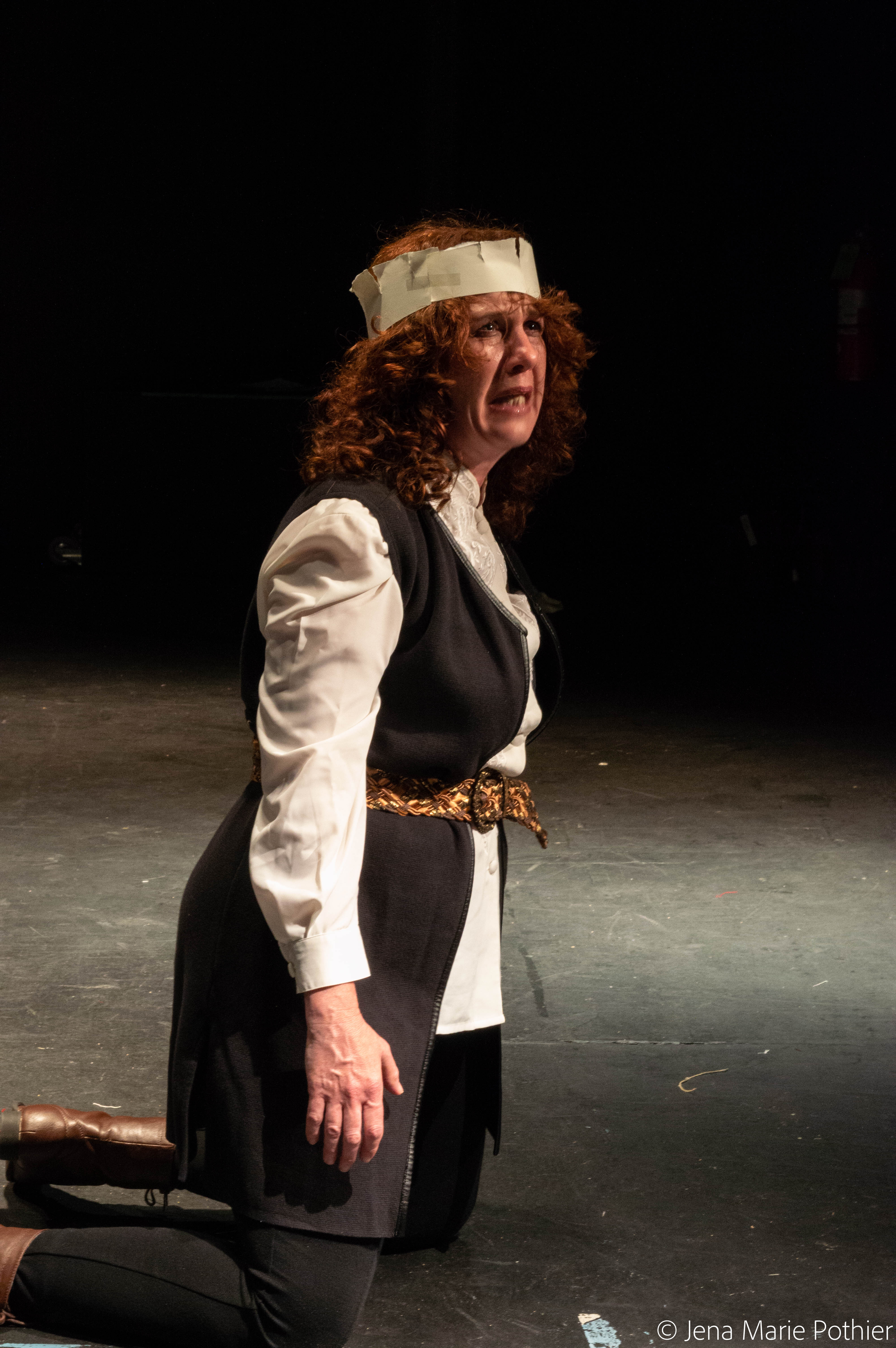 Joanne Fayan in QUEEN MARGARET by Jennifer Dick, adapted from William Shakespeare