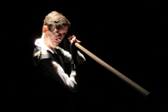 Andrew Conley as Richard III in QUEEN MARGARET by Jennifer Dick, adapted from William Shakespeare