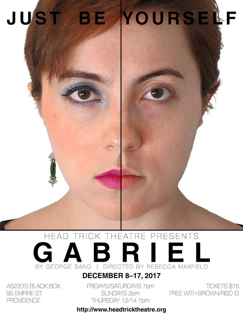Head Trick Theatre presents Gabriel, December 2017