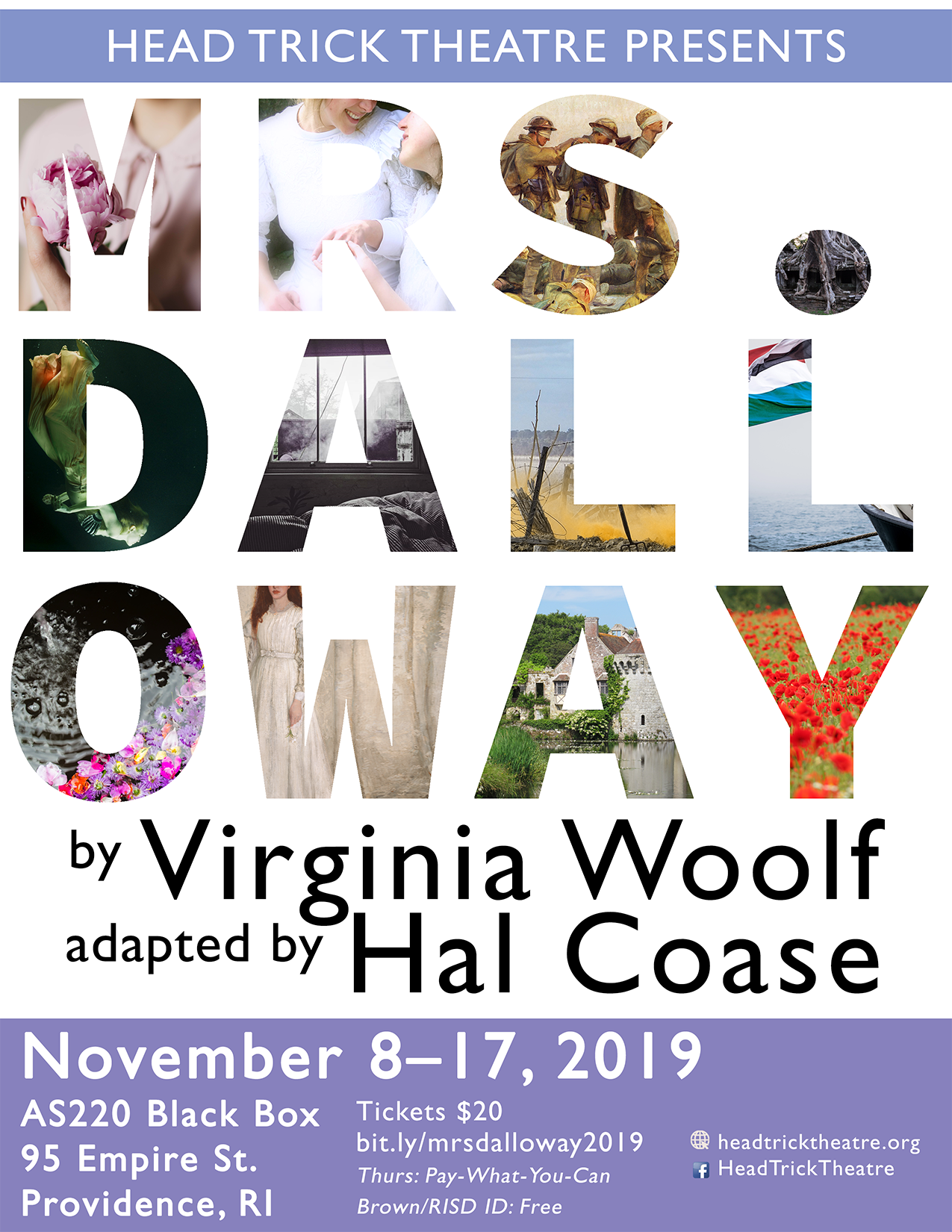 Mrs. Dalloway Play Poster Virginia Woolf